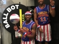 Cheese Chisholm and Firefly Fisher of the Harlem Globetrotters