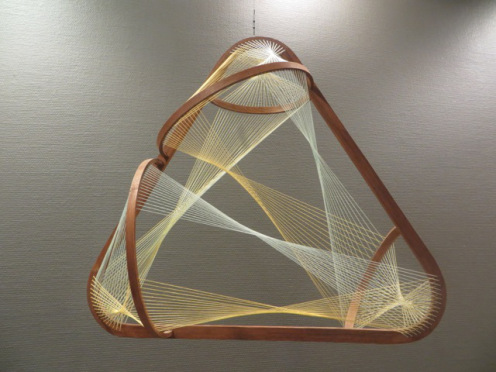 """Triangle with Offset Half Circles"" by David Press"