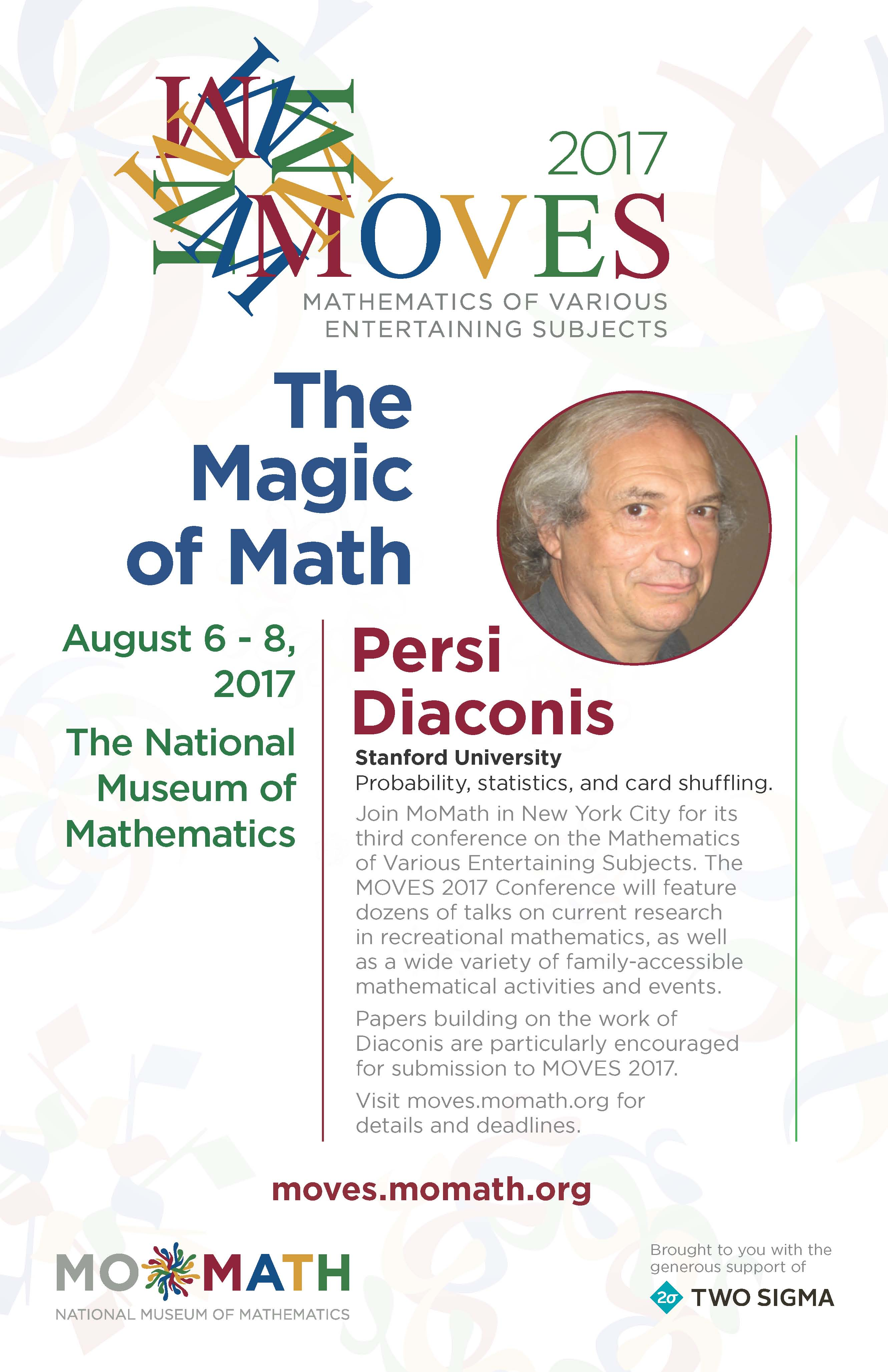 Moves 2017 Poster Diaconis only A – National Museum of Mathematics