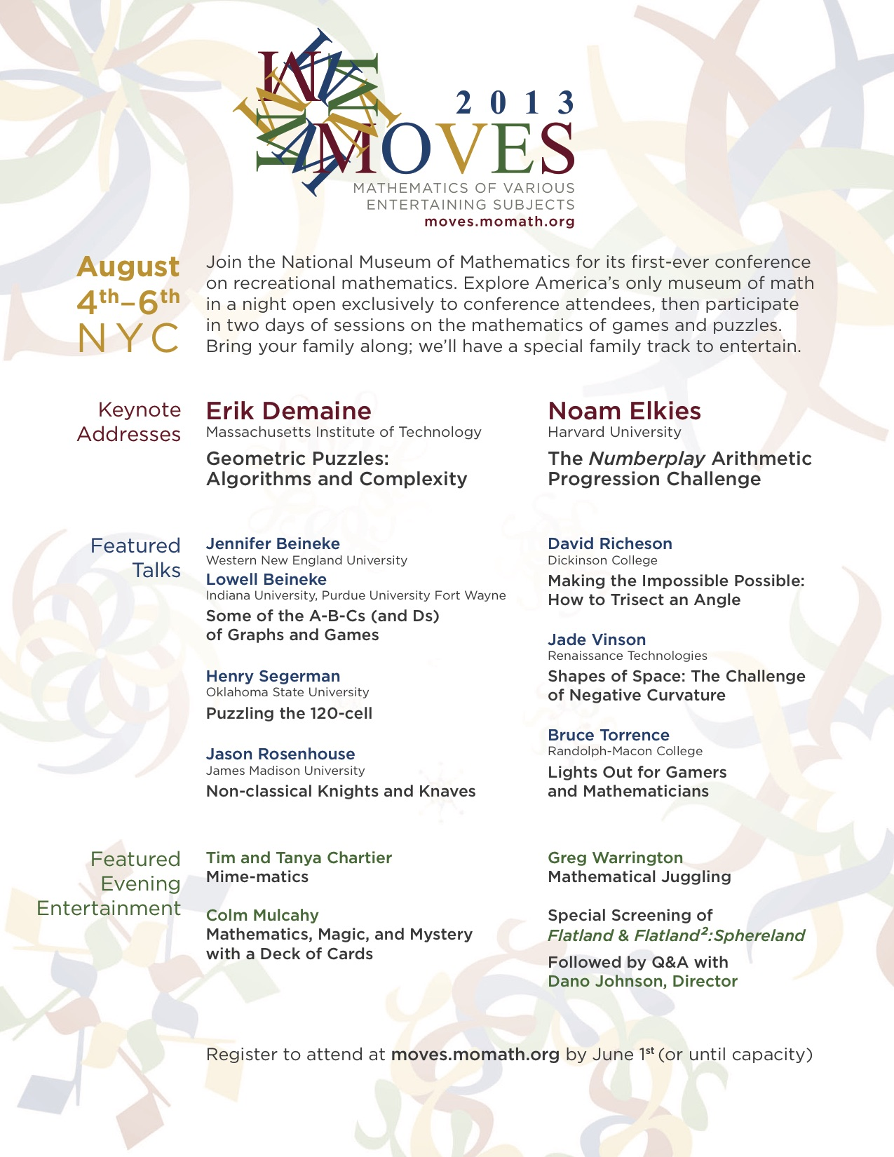 MOVES Flyer