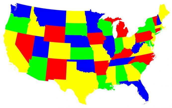 Contiguous 48 US states