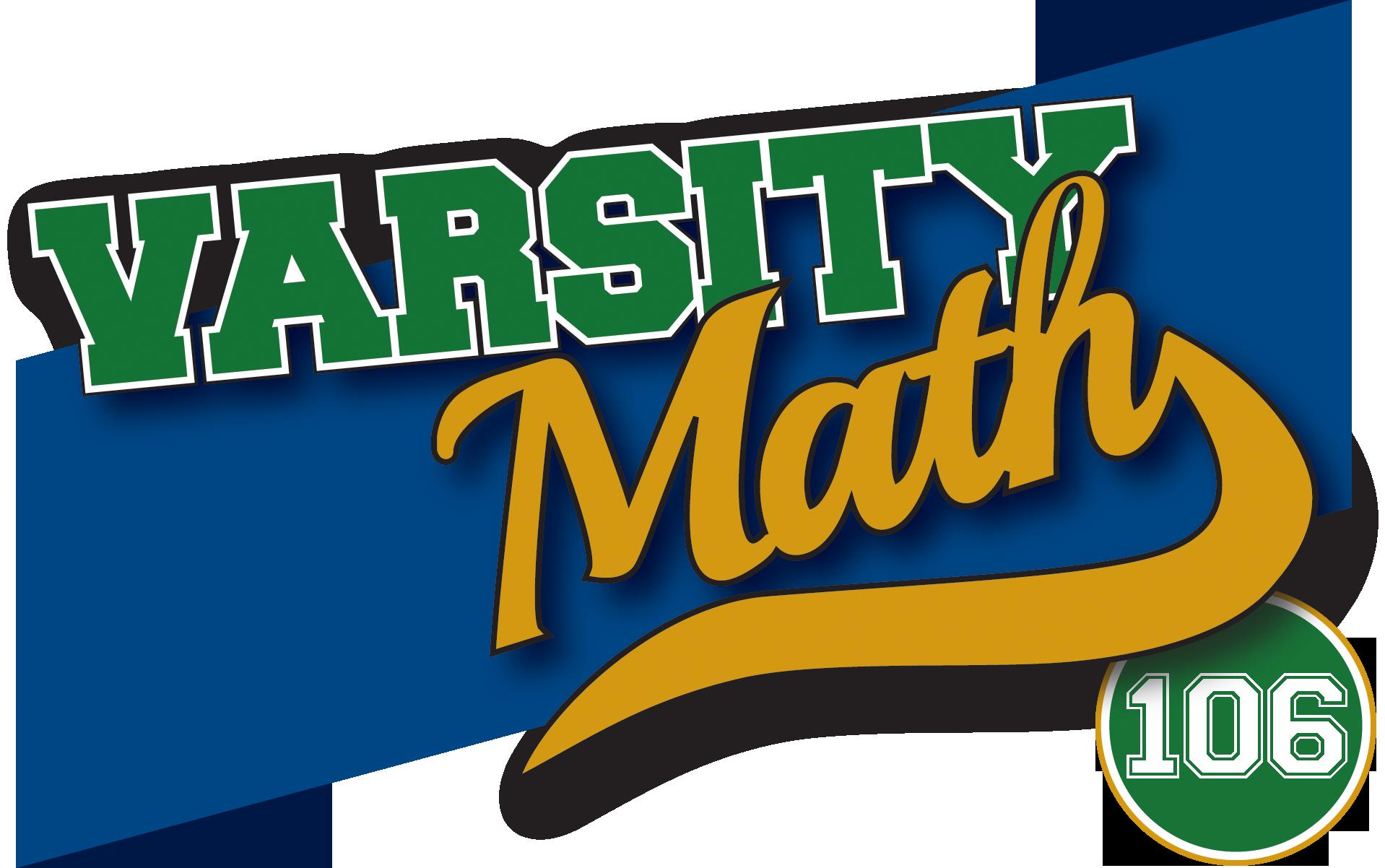 Varsity Math 106