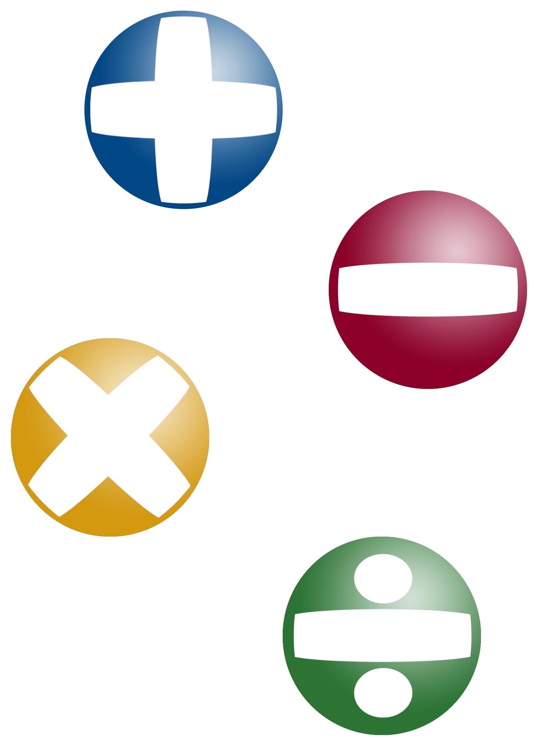 Math Symbol Balls