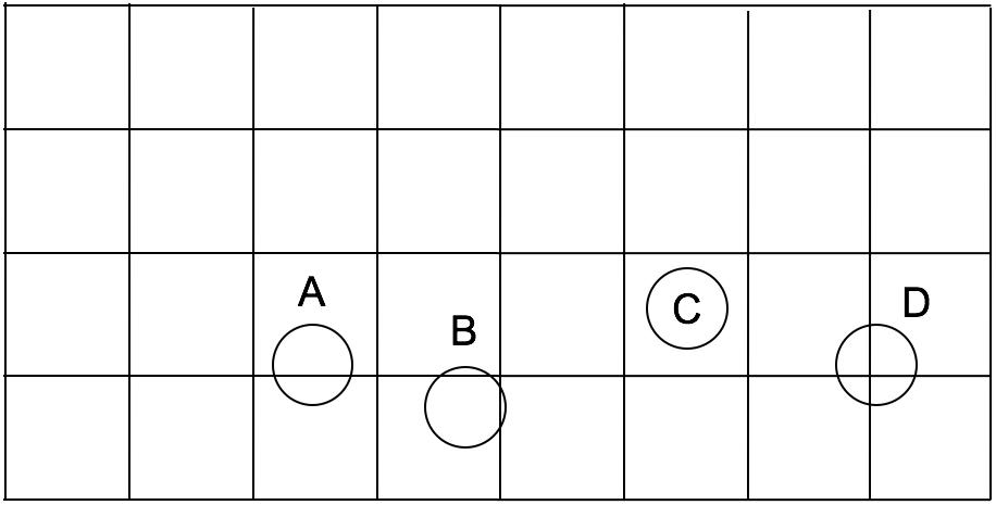 Random Toss Squares