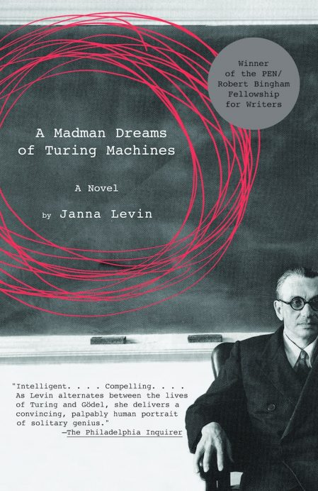 A Madman Dreams of Turing Machines by Janna Levin book cover