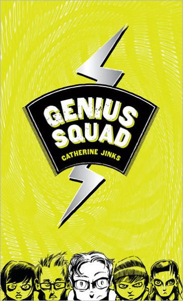 Book cover of Genius Squad by Catherine Jinks