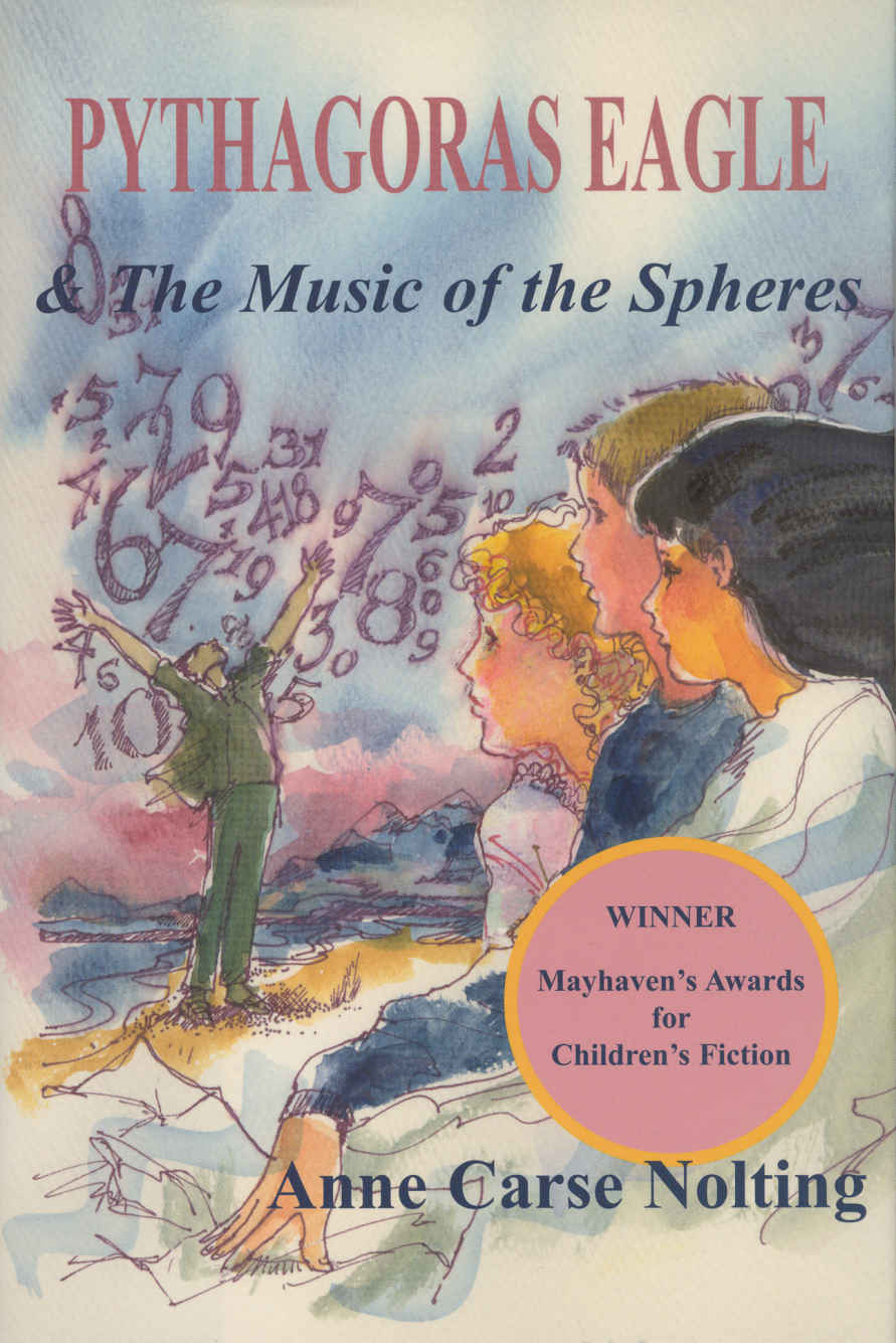 "Cover of book, ""Pythagoras Eagle and the Music of the Spheres"""