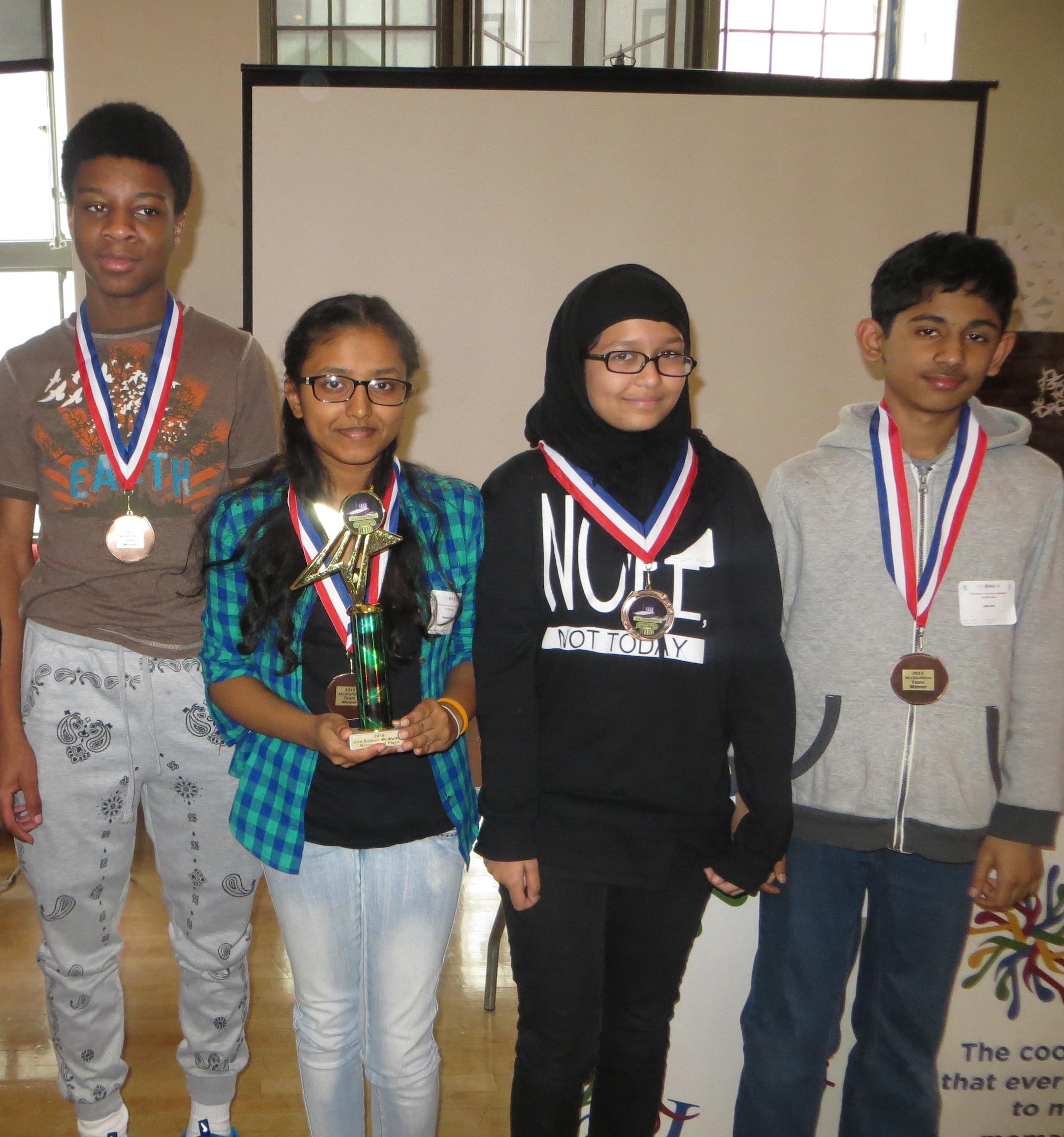 Bronx 2nd place
