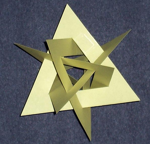 how to make an equilateral paper
