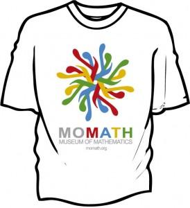 MoMath Intricate Pi T-Shirt