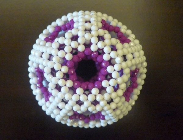 Beaded High Genus Fullerene