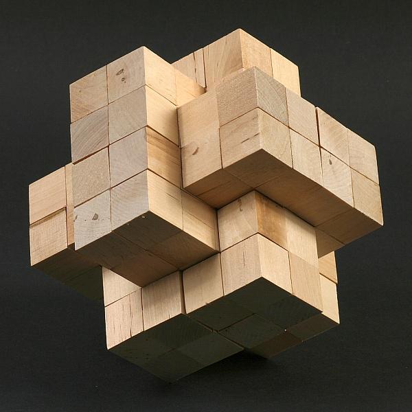 Wood Burr Puzzle Plans