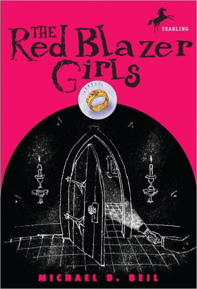 The Red Blazer Girls: The Ring of Rocamadour book cover