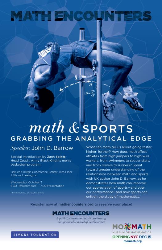 John D. Barrow Math Encounters Poster