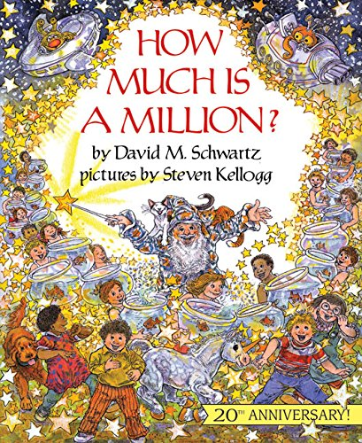 "Book cover of ""How Much Is a Million?"" by David Schwartz"