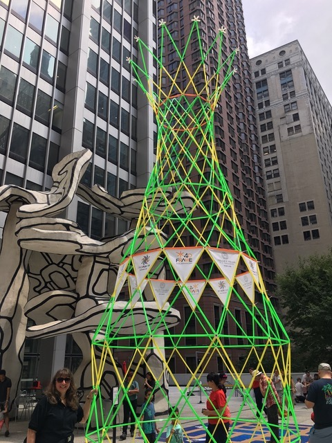 Sculpture at NYC Math Festival