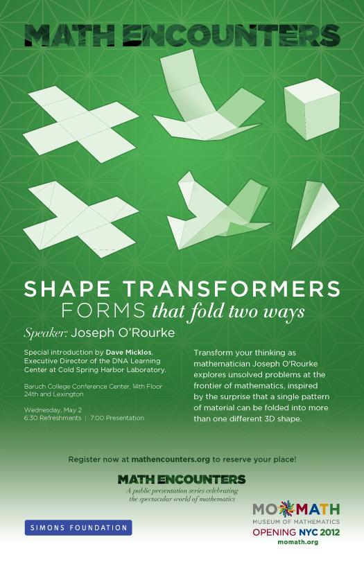 Joe O'Rourke Math Encounters Poster