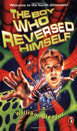 Book cover for The Boy Who Reversed Himself by William Sleator