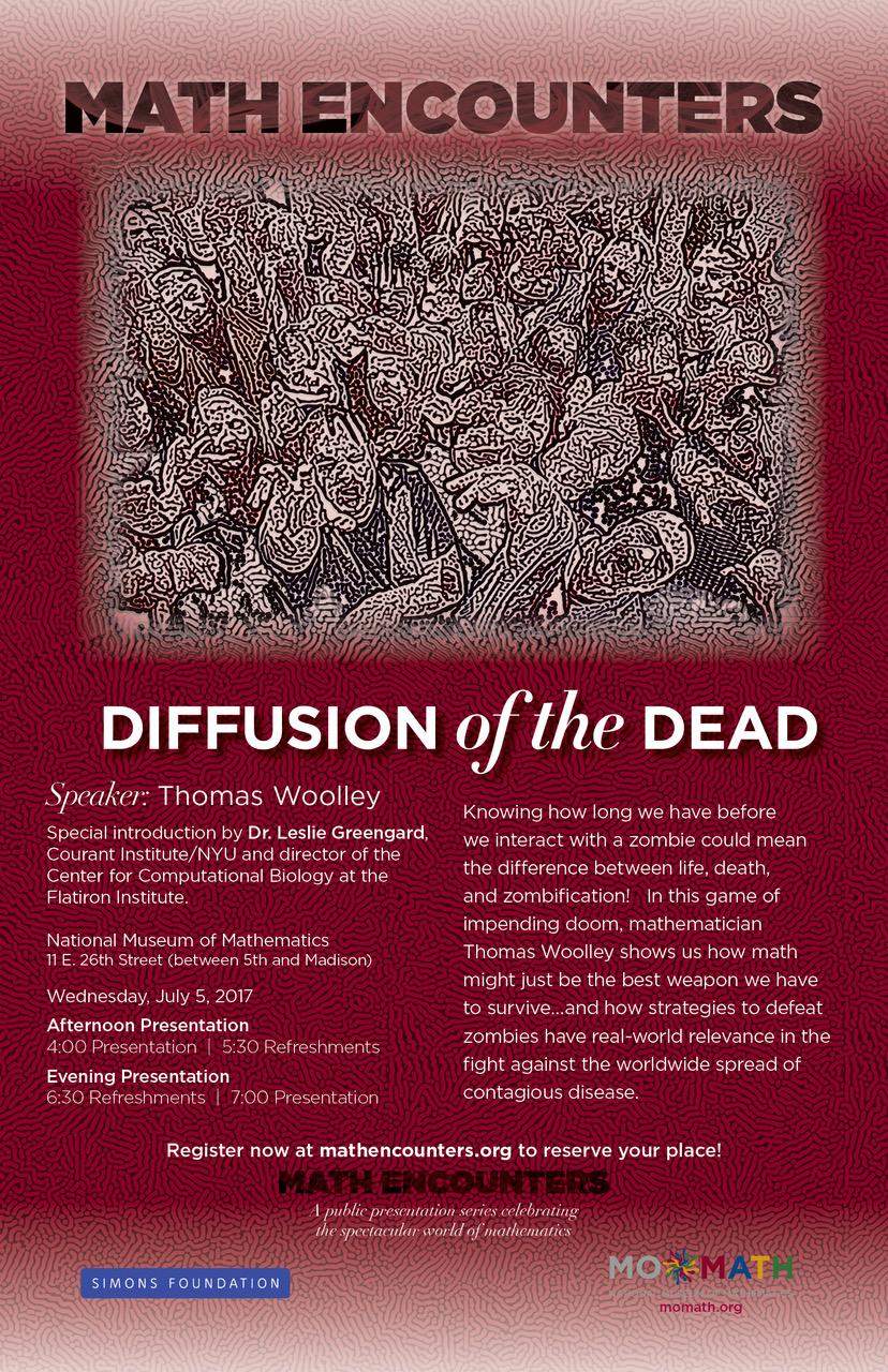 Diffusion of the Dead