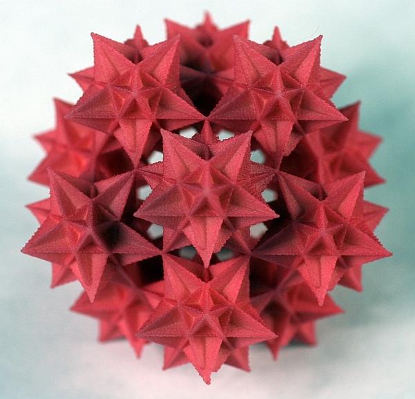 Twelve Great Icosahedra