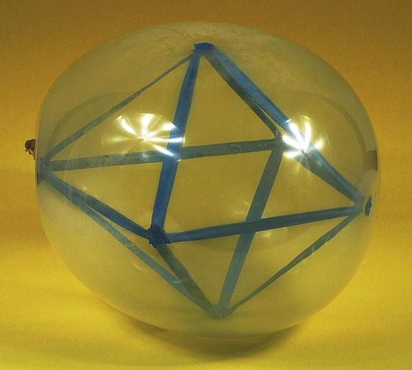 math monday an octahedron in a balloon national museum of mathematics. Black Bedroom Furniture Sets. Home Design Ideas