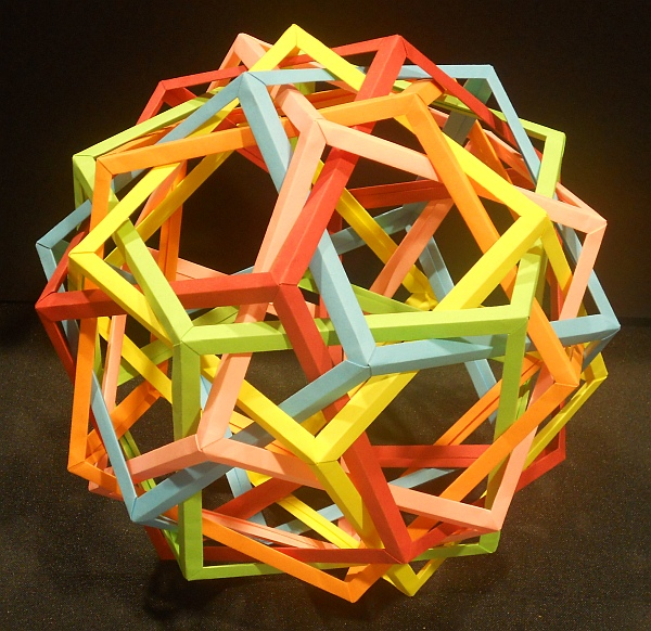 Origami Compoud of Prisms