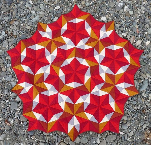 Penrose Tiling Quilt