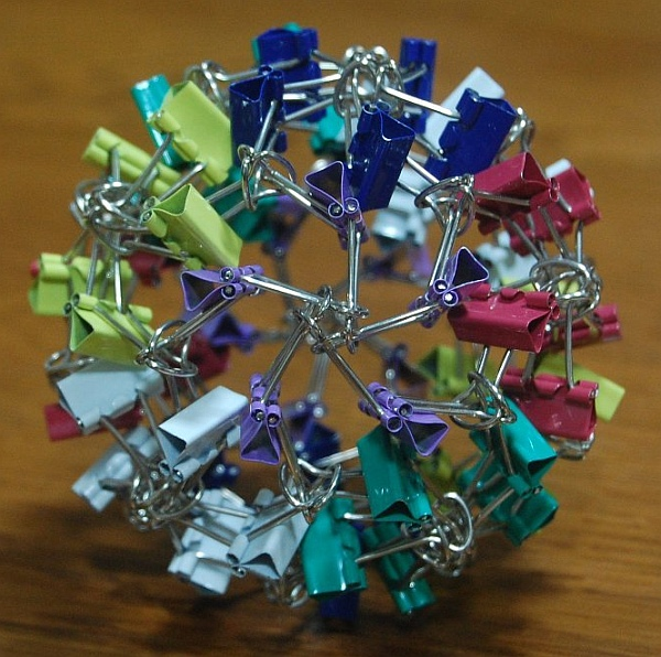 Binder Clip Ball 2